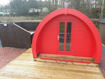 Deluxe Lodges with Hot Tubs